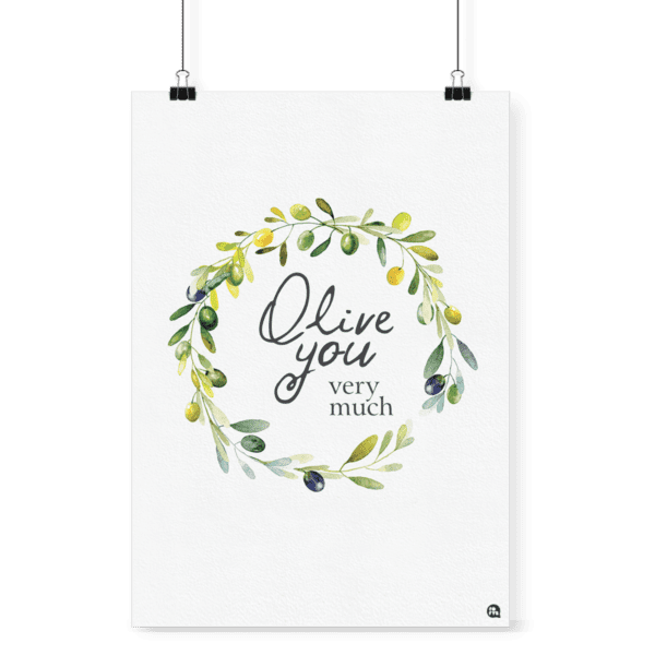 Poster decorativo Olive - Fofys